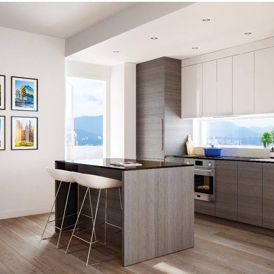 BYU Design's concept for the kitchen at Surrey's King George Hub at the Stations.