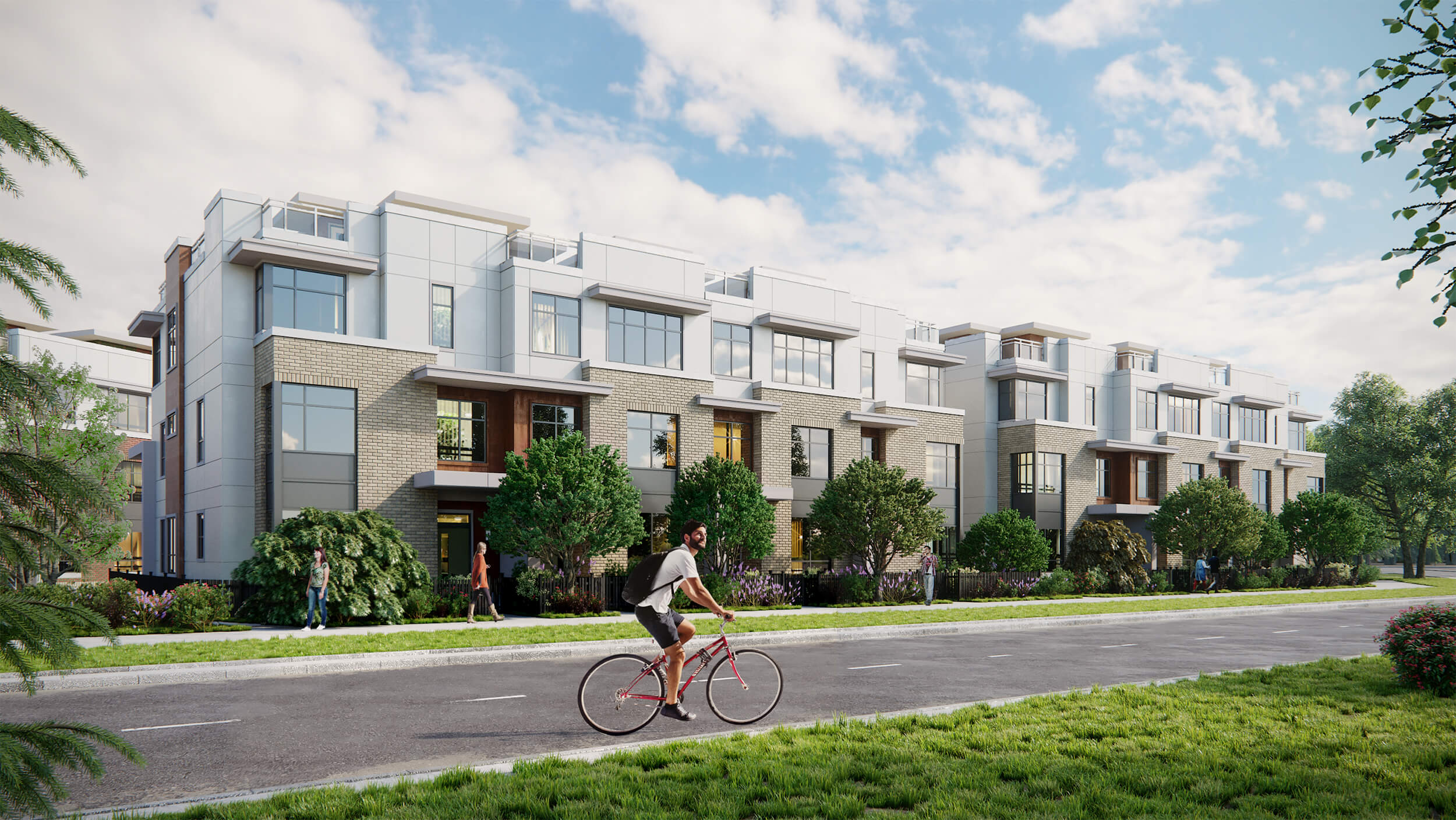 North Vancouver presale townhouses in Lions Gate Village.