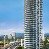 Burquitlam presale condos designed by Chris Dikeakos Architects.
