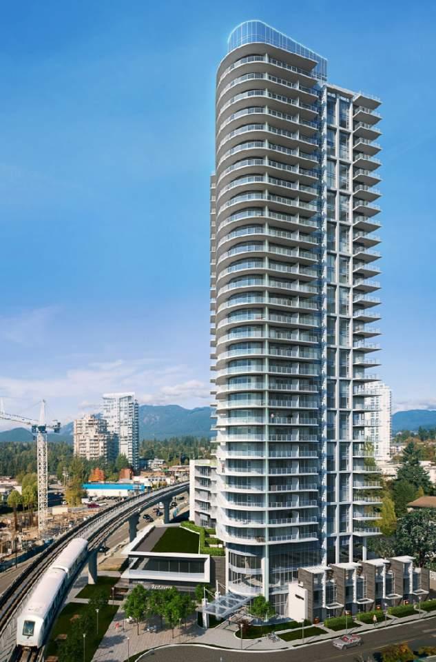 Burquitlam presale condos designed by Chris Dikeakos Architects.