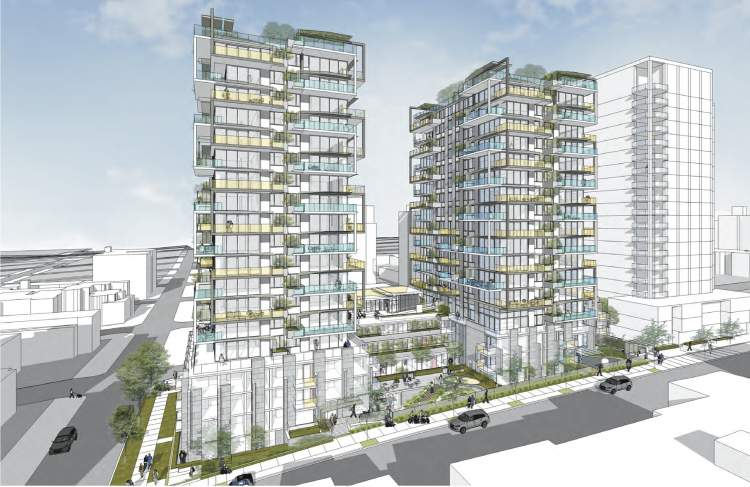 Mirabel at English Bay designed by Henriquez Partners.