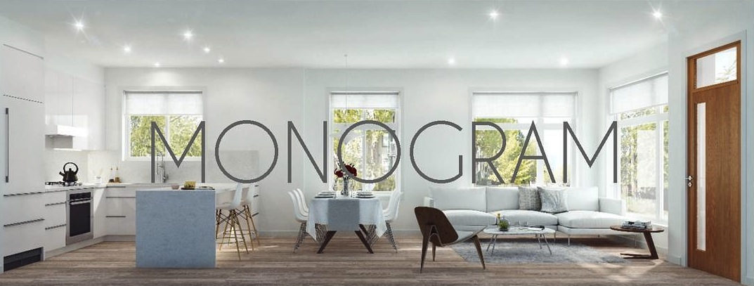 Interior concept for Monogram townhomes.
