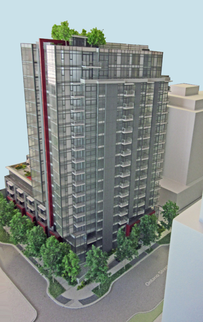 Pinnacle on the Park, False Creek rendering.