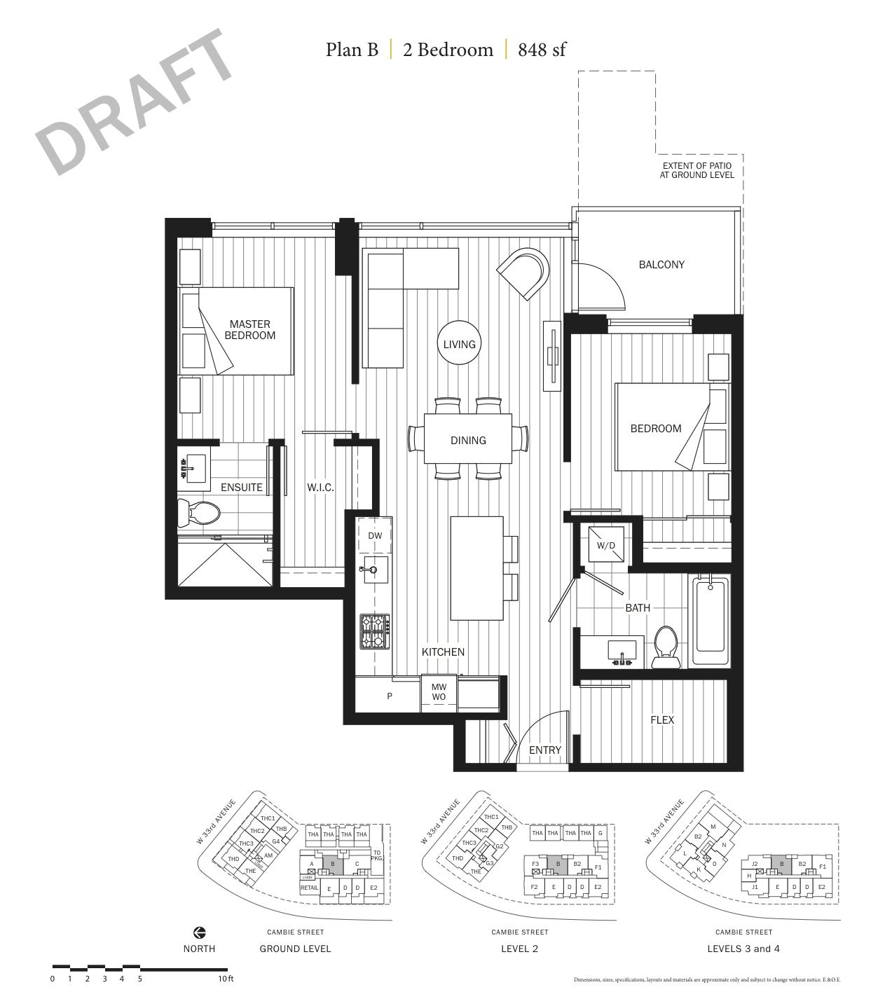 Primrose Floor Plan B.