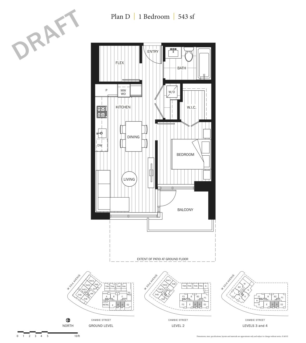 Primrose Floor Plan D.