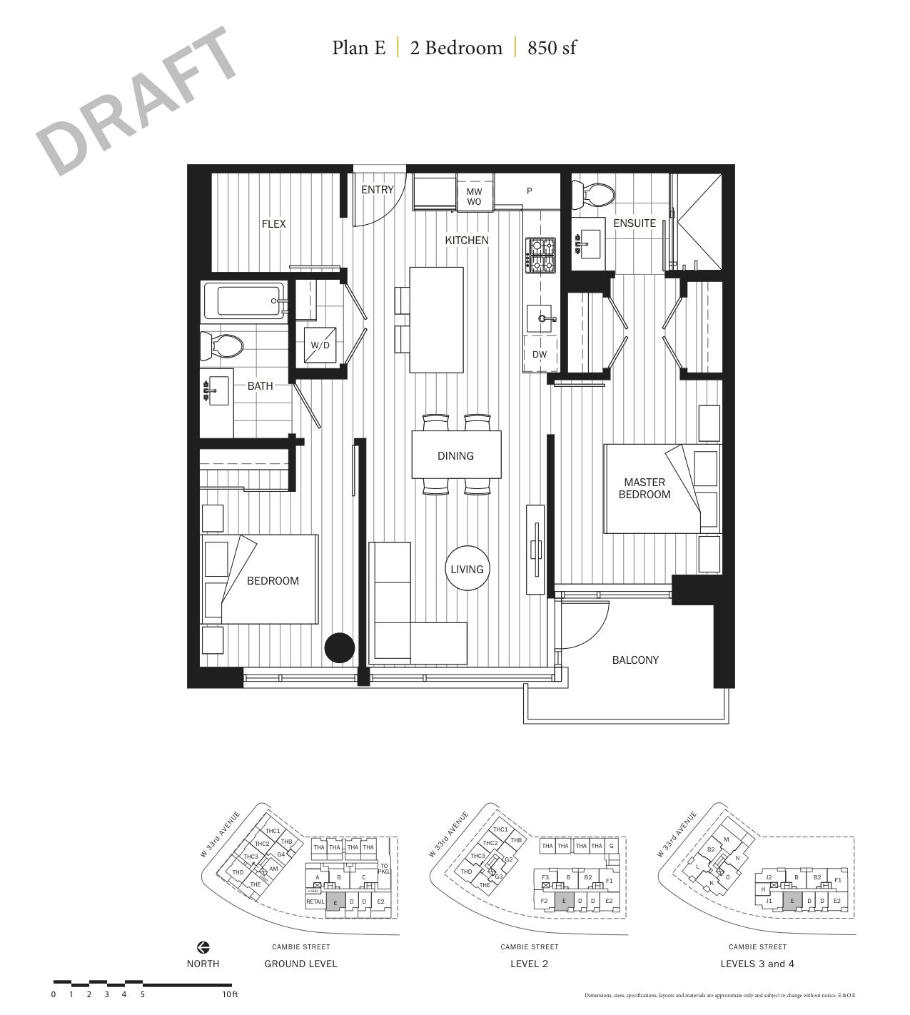 Primrose Floor Plan E.