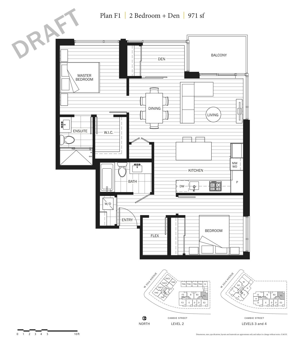 Primrose Floor Plan F1.