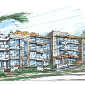 Artist rendering of RESIDE by Marcon Development Group.