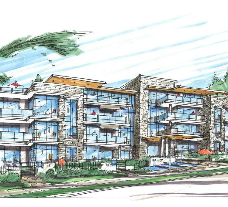 Artist rendering of RESIDE by Marcon Development Group.