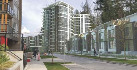 A New Wesbrook Village Development By Polygon Homes At UBC.