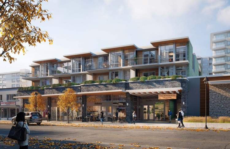 Boutique collection of West Vancouver condos in Ambleside.