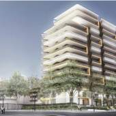 Artist rendering of Semiah, a new condominium development in White Rock.