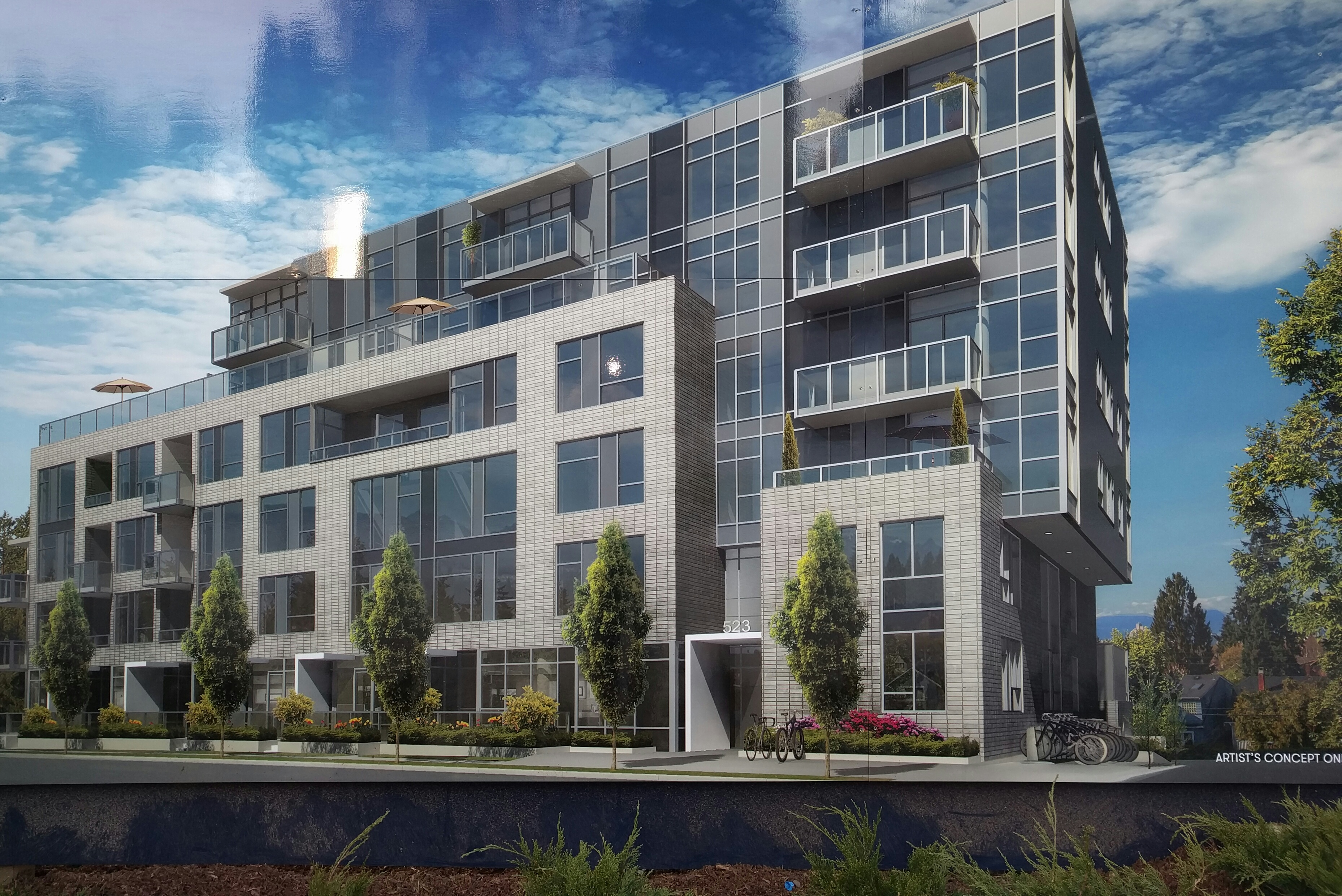 Exterior rendering of The Regent at King Edward.