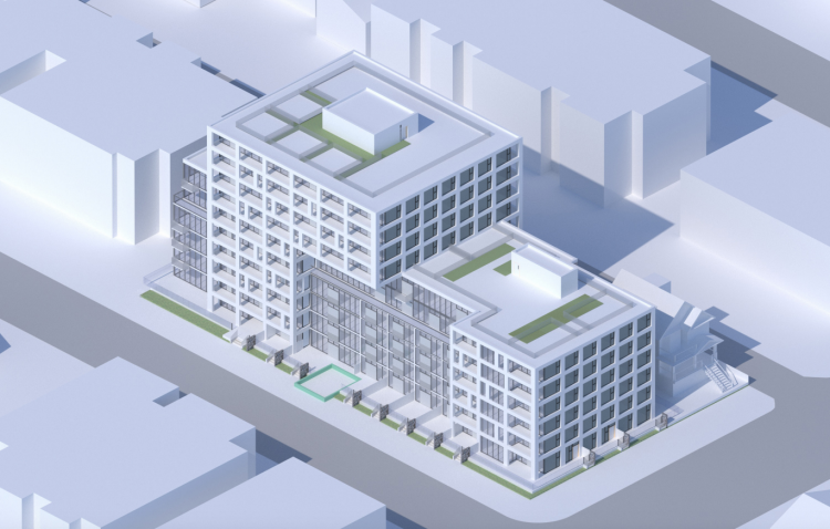 Intracorp development proposal for Victoria Drive & East 11th Avenue