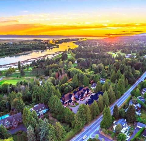 Artist Rendering Of Wilmar Residences Aerial View.