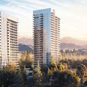 Burquitlam presale condos on Austin Avenue, near Lougheed Town Centre.