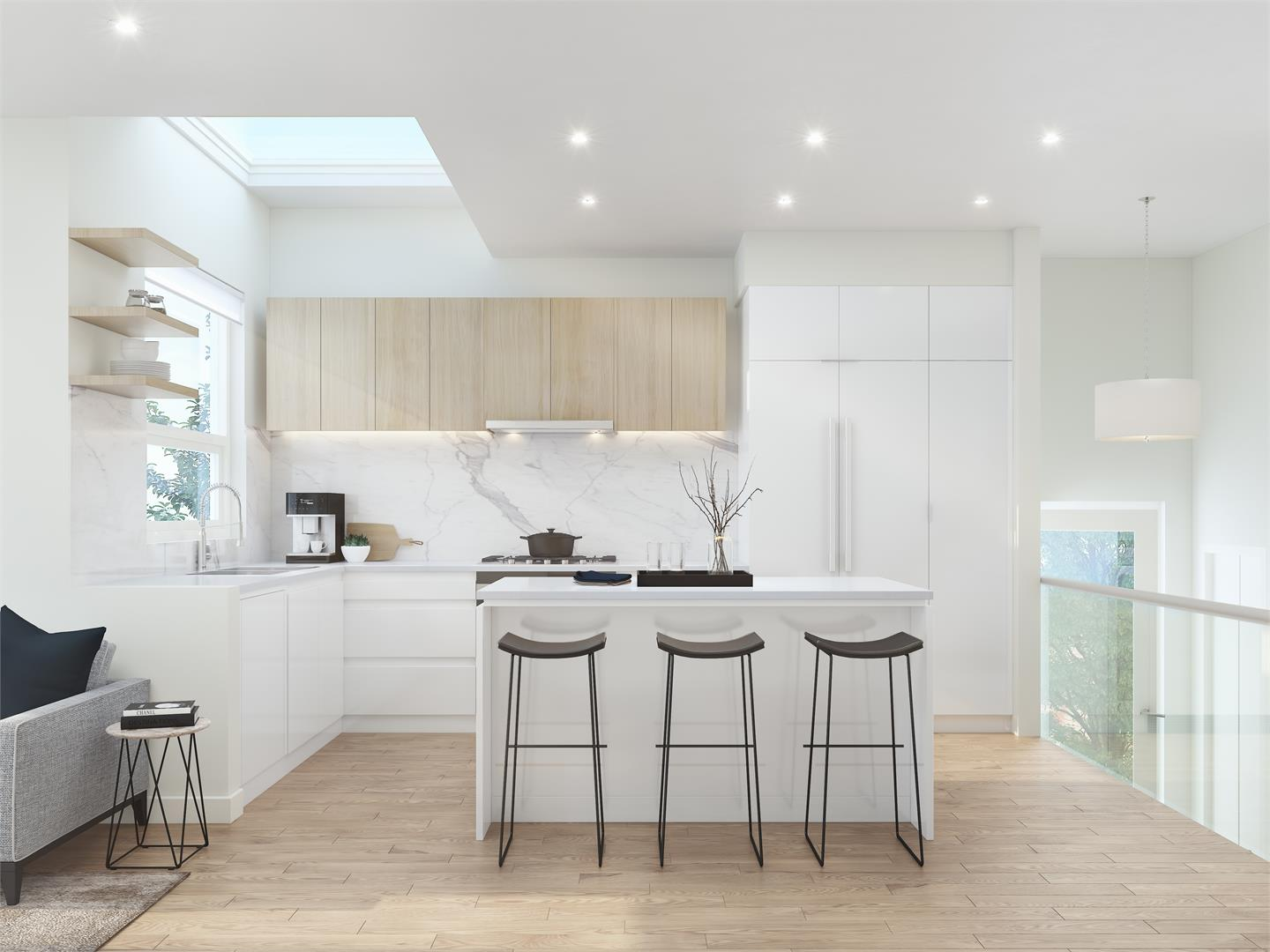 Kitchen concept for Zeo Kits by Gannon Ross Designs.