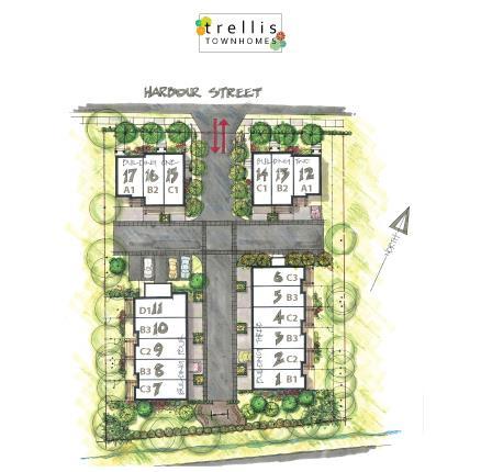 Trellis Townhomes Interiors
