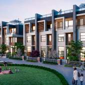 Artist concept of Citimark's Belle Isle presale North Shore townhouses.