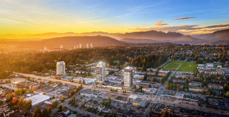 Two towers with sweeping views with a new Safeway and an array of local businesses, provide amenities to a growing community.