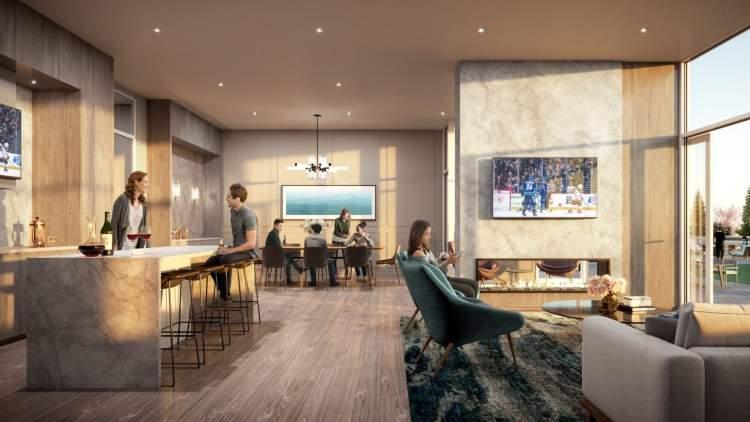 Over 16,000 sq ft of amenities provide ample space to entertain friends and family.