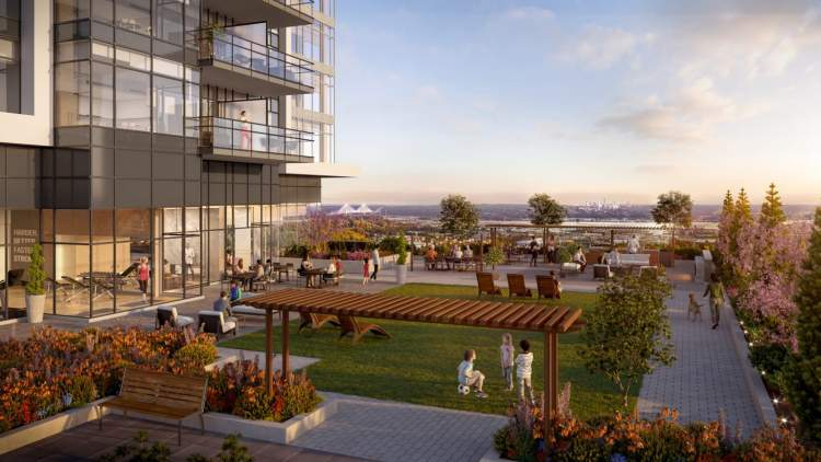 Take advantage of the epic views on 14,000 sq ft of terraced outdoor areas.