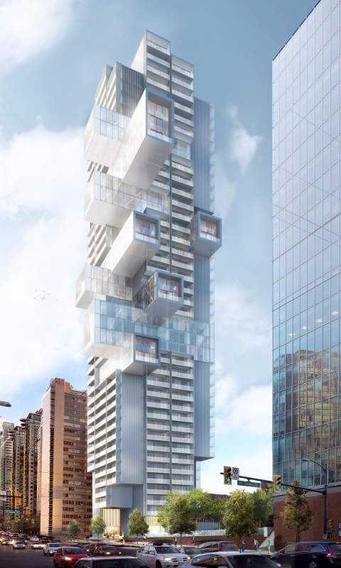 Iconic Residential Tower Designed By Büro Ole Scheeren Coming Soon To Vancouver's West End.