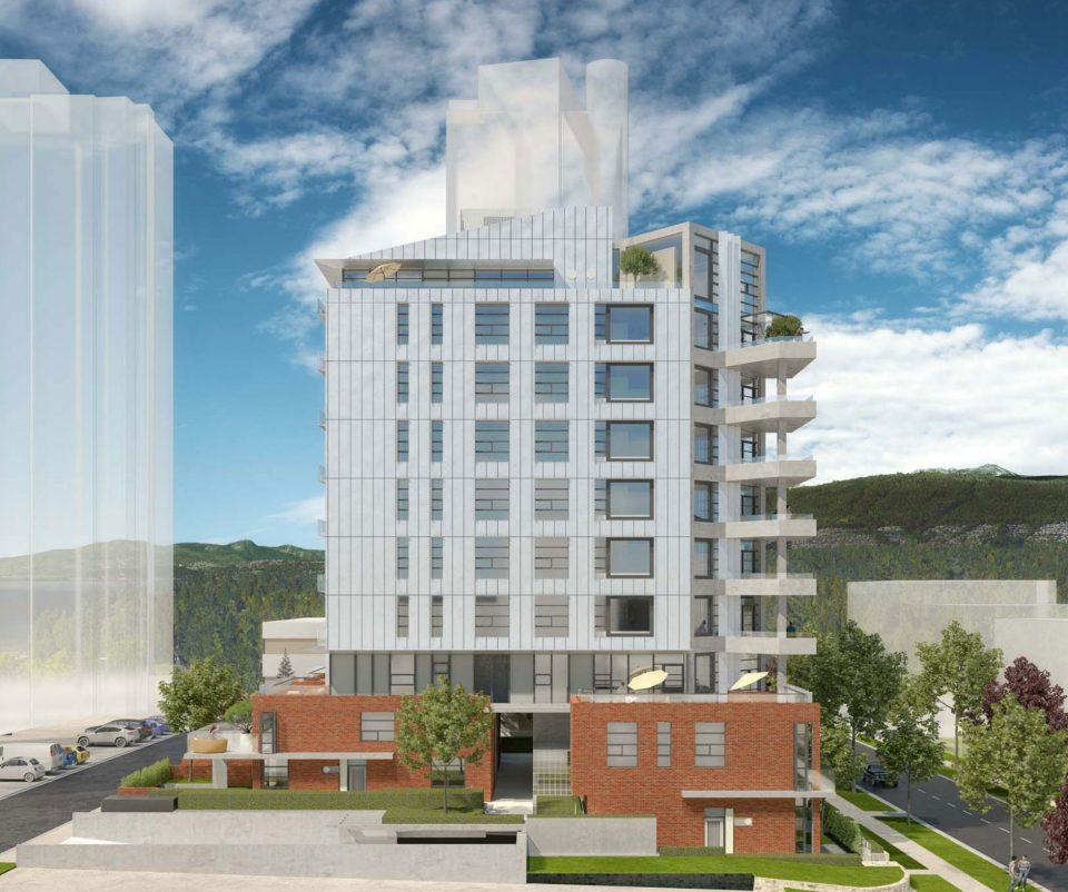 Spacious West End presale condos designed by Henriquez Partners and Shift Architecture.