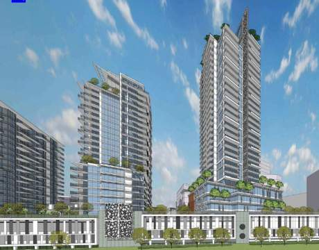 Artist's Concept Of Building Seven, Coming Soon To Sapperton's Brewery District.