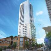 Coming soon to New West, presale condos at Sixth and Carnarvon.