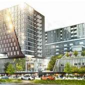 Mixed-use development coming soon to Richmond's Brighouse Village designed by W.T. Leung Architects.