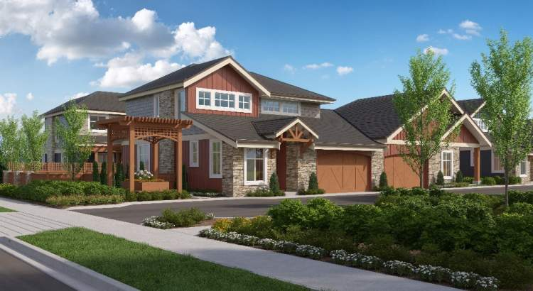 Coming soon to Langley, 64 semi-detached townhomes from Sandhill Development.