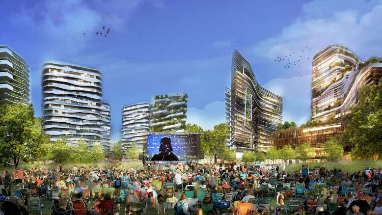 Lansdowne District's Centre Park will be a new Richmond venue for concerts, festivals, and civic events.
