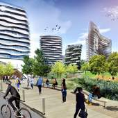 Lansdowne District's Civic Plaza will be a new town square in the heart of Richmond.
