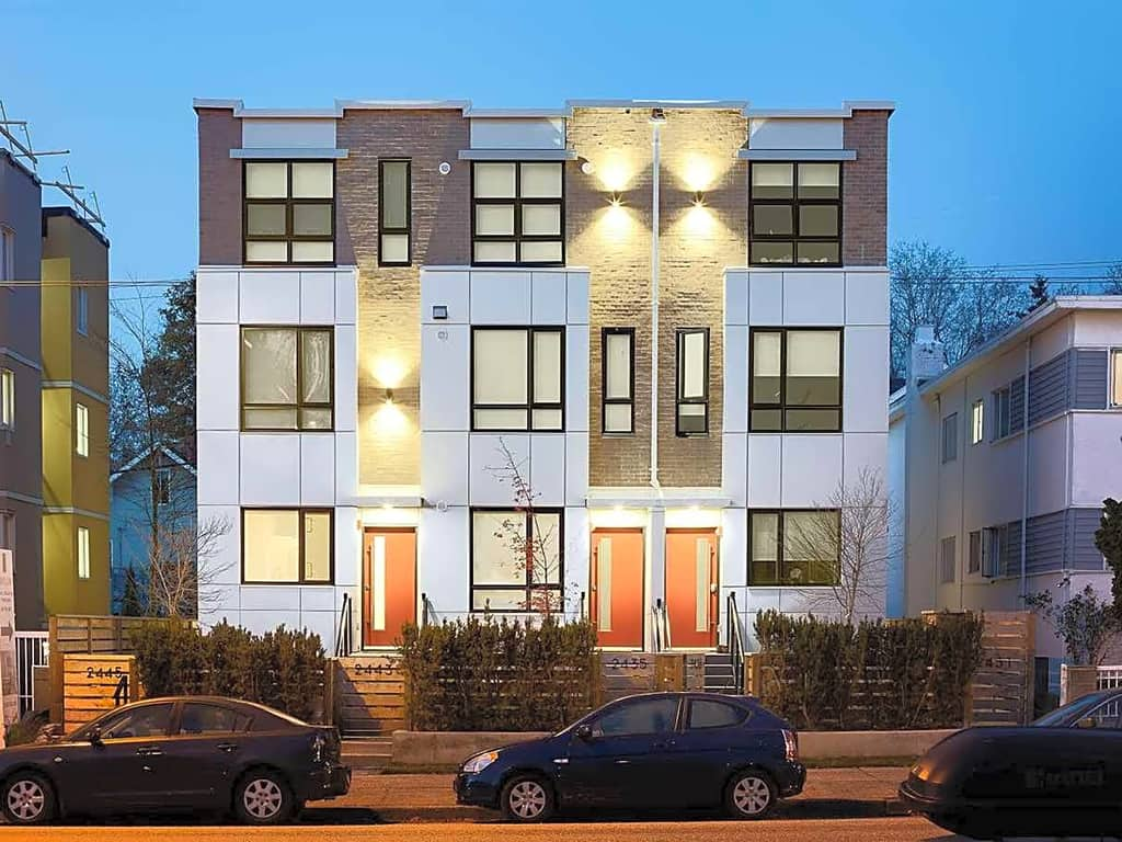Vancouver West Side Townhomes For Sale