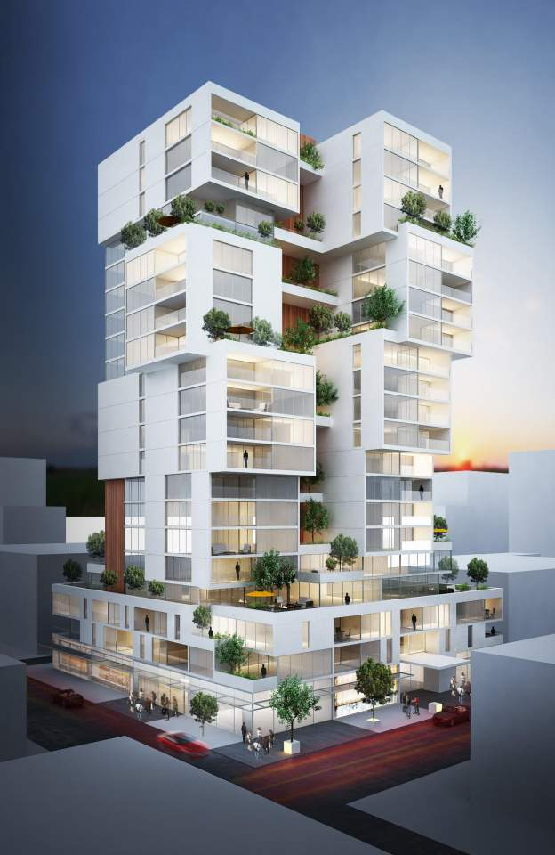 Coming soon to Alberni & Denman, distinct luxury presale condos designed by Rafii Architect.