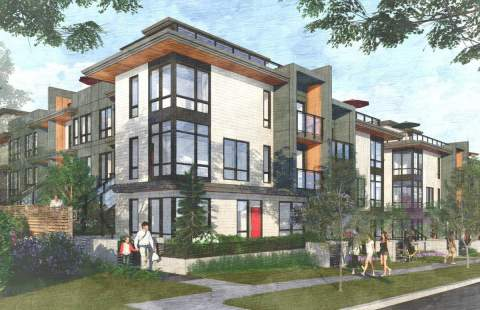 Coming Soon To Burquitlam, Adera Presents Duet, A Boutique Collection Of Stacked Townhouses.