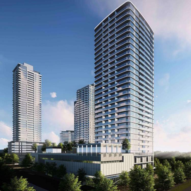 Coming soon to Surrey City Centre, presale condos by Anthem Properties.