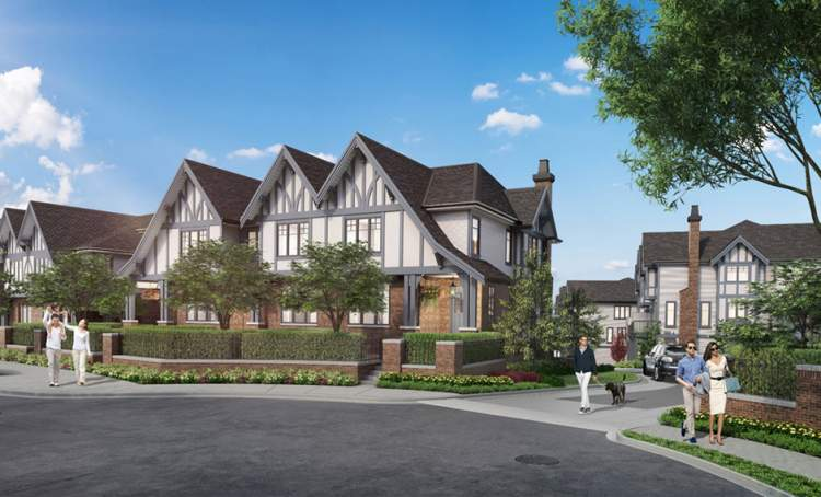 Coming soon to Burke Mountain, Coquitlam, from Polygon Homes, 88 executive townhomes.