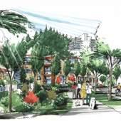 Artist rendering of the Musqueam redevelopment of the University Endowment Lands Block F