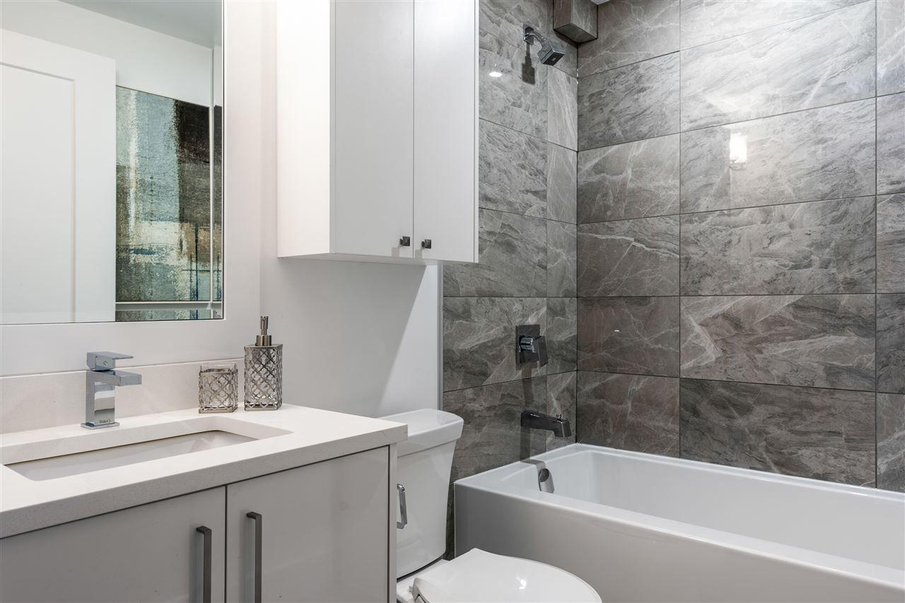 Relax in your rejuvenating bathroom at Norquay 9, the latest townhome development from Bosworth Ventures.