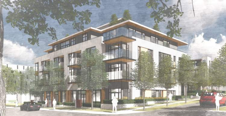 Presale condos designed by Ramsay Worden Architects coming soon to the Cambie Corridor.
