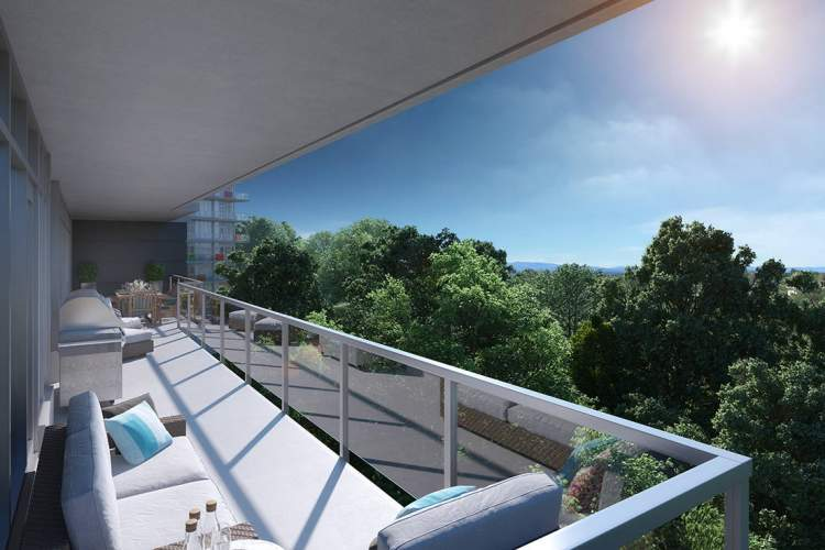 At Lyra Residences, spacious balconies and expansive windows beckon the outdoors in.