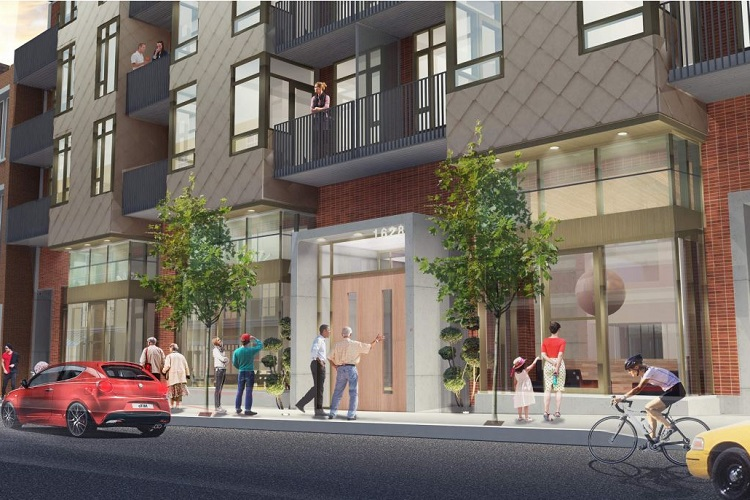 The Pearl Residences will transform an open parking lot into a vibrant streetscape with commercial units fronting Store Street.