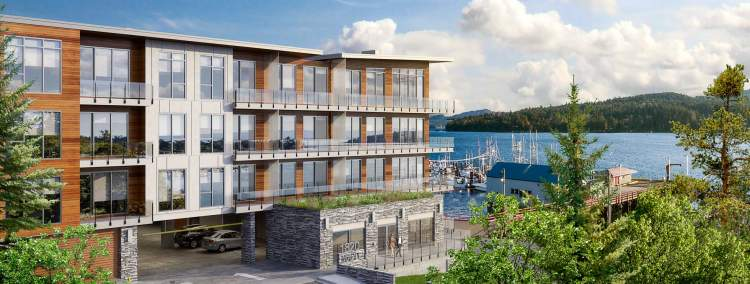 Situated 70 feet from the sparkling waters of the Sooke Harbour The Residences on Sooke Harbour are the ultimate waterfront condominium opportunity.
