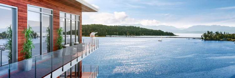 Each suite has been designed to optimize the panoramic harbour views and abundance of natural light.