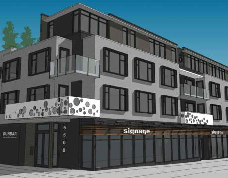 Coming To Dunbar-Southlands, A New 4-storey, Mixed-use Building With Presale Vancouver Condos.