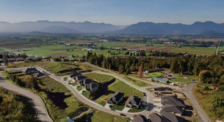 Single-family homes at Aquilini's newest master-planned community in Chilliwack.