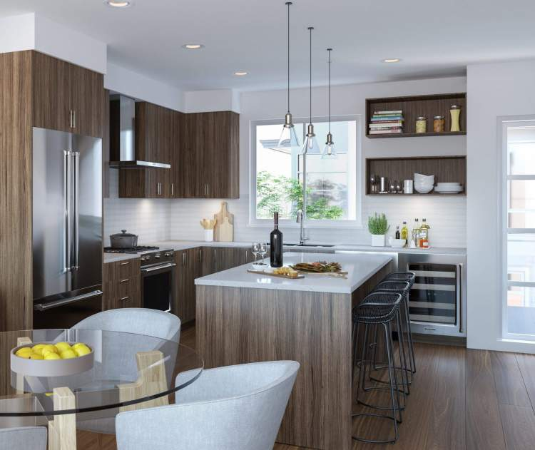 Open-concept kitchens create an inviting gathering space for family and guests alike.