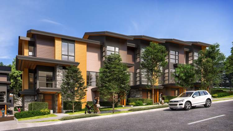 West Coast townhomes at Cedar Ridge coming soon to Port Moody, BC.